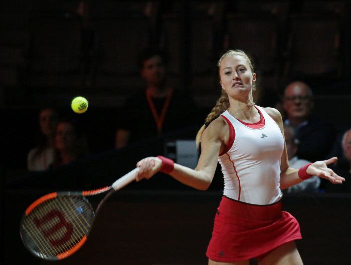 WTA Madrid : Mladenovic s'incline face à Sharapova