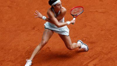 WTA Rome : Caroline Garcia solide d'entrée