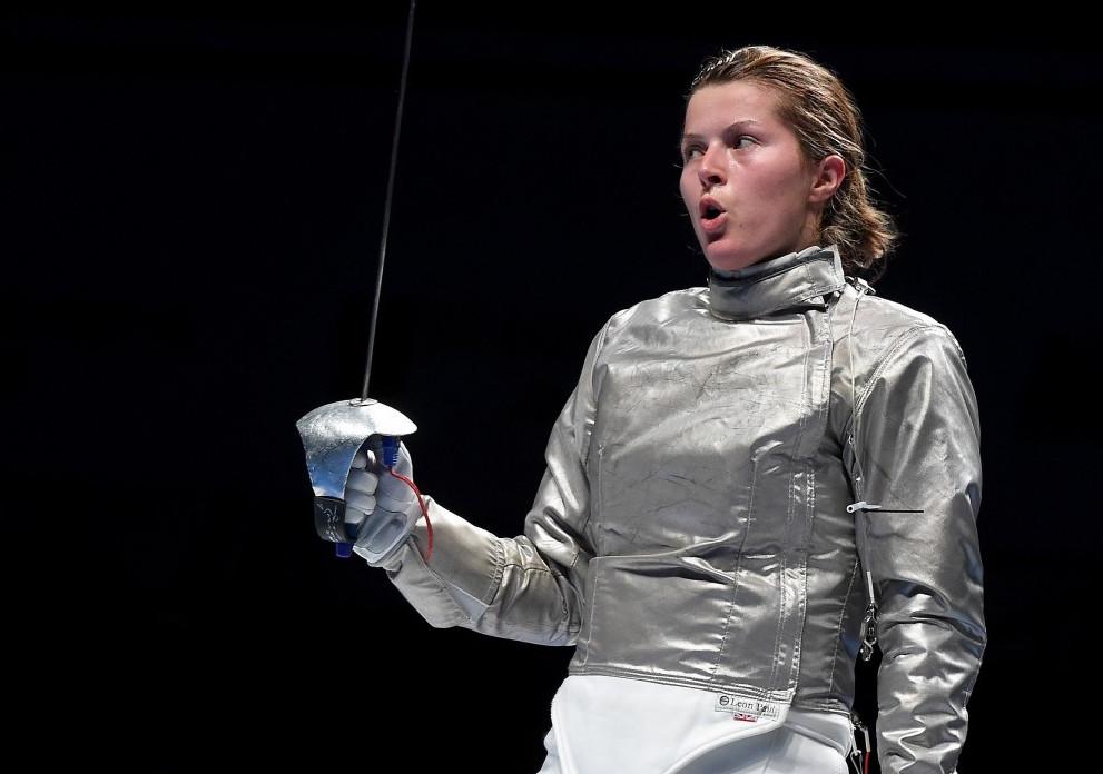 Cécilia Berder est vice-championne d'Europe d'escrime