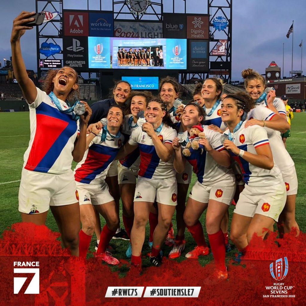 Mondial Rugby à 7 – Les Bleues vice-championnes du monde !