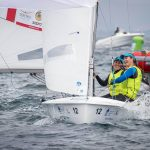 Après quelques mois d'entraînement seulement, le duo a remporté la World Cup Series de Hyères en avril. [2018 WORLD CUP SERIES HYERES © Richard Langdon / Sailing Energy / World Sailing].