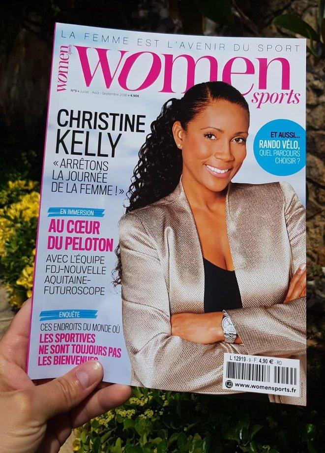 WOMEN SPORTS N.9 est dans les kiosques : Christine Kelly à la une !