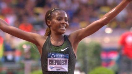Beatrice Chepkoech a battu le record du monde du 3.000 m steeple