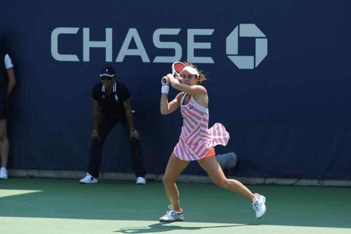 L'US Open s'excuse et annule l'avertissement reçu par Alizé Cornet pour s'être changée sur le court