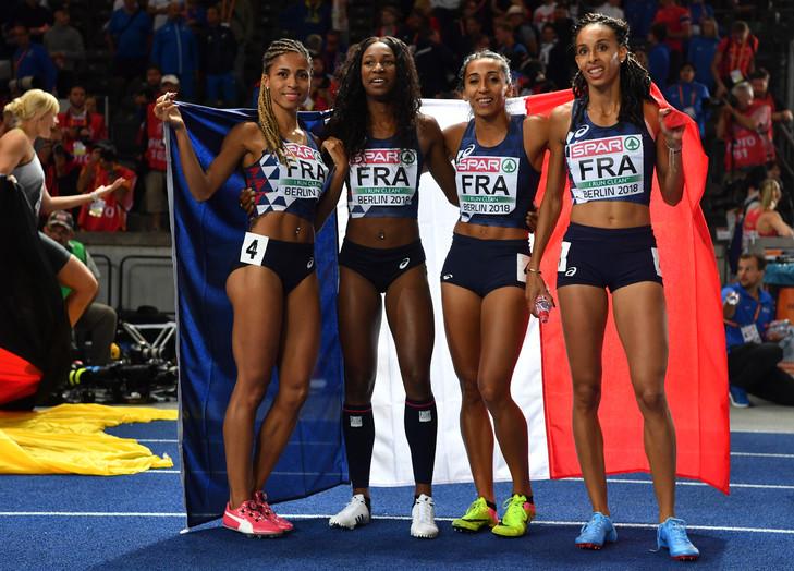 Euro Athlé – Le 4×400 féminin en argent