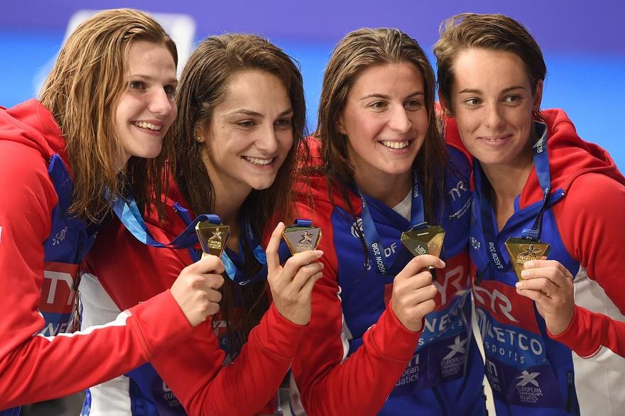 Euro Natation – Fantine Lesaffre et le relais 4×100 m féminin en or !