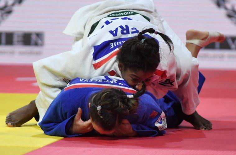 [Mondiaux-2018 Judo]Première médaille mondiale pour Marie-Eve Gahié en argent (-70kg)