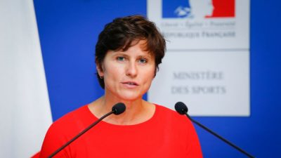 Les premiers mots de Roxana Maracineanu en tant que ministre des Sports