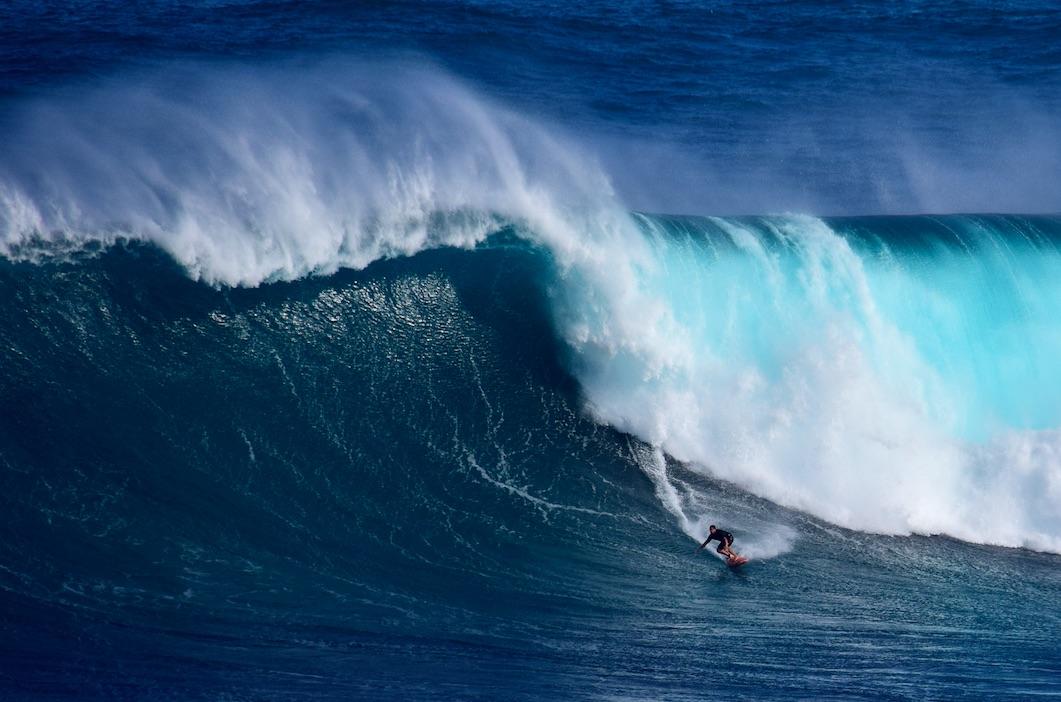 Le Guiness Book vient d'homologuer le record du monde de la plus grosse vague jamais surfée par une femme, établi en début d'année par la Brésilienne Maya Gabeira à Nazaré, au Portugal, et estimé à plus de 20 mètres (20,72 m).