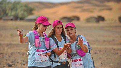 Rose Trip, un trek 100% féminin et solidaire au coeur du désert marocain