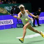 L'Ukrainienne Elina Svitolina a remporté le tout premier match du Masters 2018 dimanche à Singapour en battant la Tchèque Petra Kvitova, 6-3, 6-3.