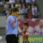 Touchée au genou en plein match de Ligue des Champions samedi, la gardienne brestoise Cléopâtre Darleux voit sa participation à l'EHF Euro 2018 compromise.