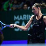 En battant sa compatriote Petra Kvitova 6-3/6-4, la Tchèque Karolina Pliskova N.6 a décroché son billet pour les demi-finales du Masters 2018 de Singapour.