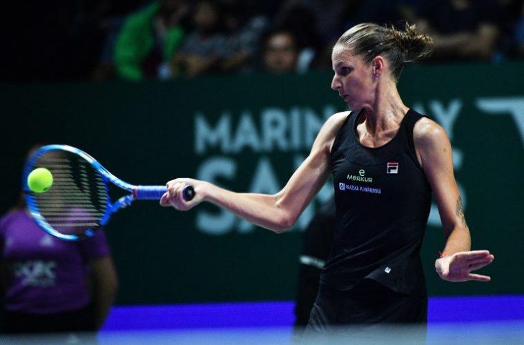 Masters 2018 : Pliskova première qualifiée pour les demi-finales