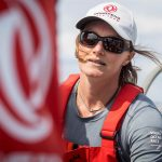 La Française Marie Riou est élue Marin de l'année. Une récompense qu'elle partage avec Carolijn Brouwer, sa coéquipière sur la dernière Volvo Ocean Race.