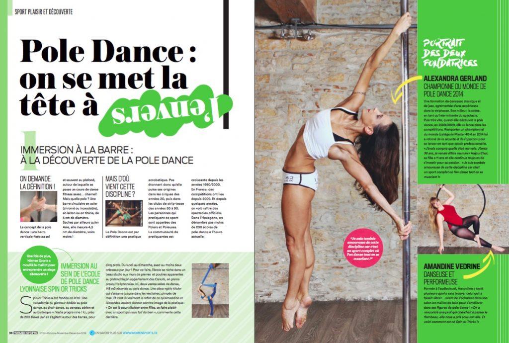 Vous rêvez d'essayer le pole dance ? Pour en connaître plus et découvrir les mouvements de base, on a frappé à la porte de l'Ecole Spin or Tricks à Lyon.