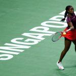 Avec l'élimination de Kerber par l'Américaine Sloane Stephens, il n'y a plus aucune joueuse du top 5 encore en compétition au Masters 2018 de Singapour.