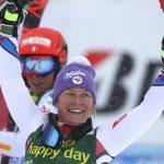 La Française Tessa Worley a remporté le géant d'ouverture de la Coupe du monde de ski alpin 2018-2019, samedià Sölden en Autriche.