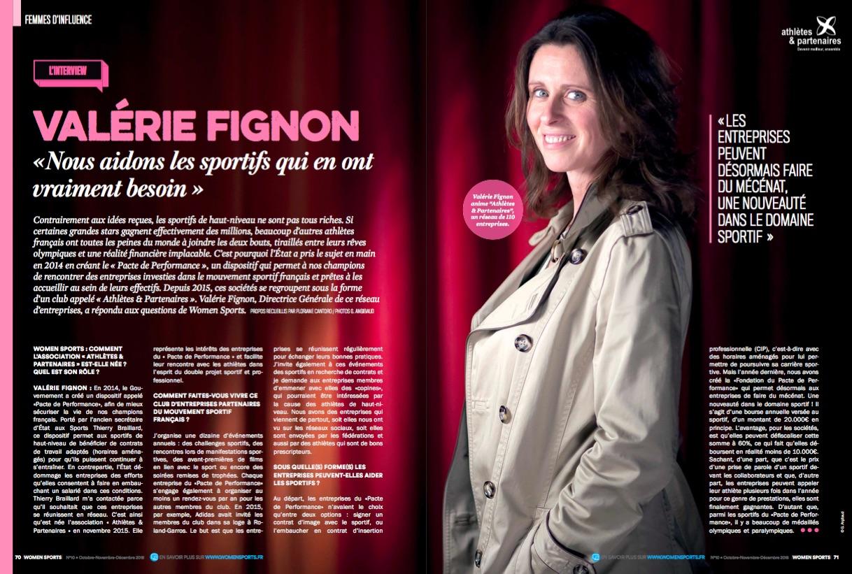 Valérie Fignon anime le réseau Athlètes & Partenaires, qui aide les sportifs de haut-niveau dans leur double projet sportif et professionnel. Interview.