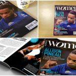 WOMEN SPORTS N.10 est sorti en kiosques le 1er octobre. Une nouvelle que notre communauté s'est empressée de relayer sur les réseaux sociaux. MERCI !