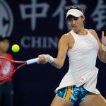 La Française Caroline Garcia, 18e joueuse mondiale, a été éliminée du Masters bis 2018 de Zhuhai vendredi au pourcentage de jeux gagnés et perdus en poule.