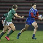 L'arrière française Jessy Trémoulière a été élue meilleure joueuse de rugby de l'année 2018 dimanche, une première pour le rugby féminin tricolore.