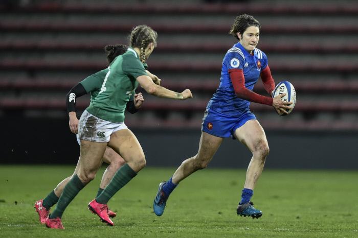Rugby : Jessy Trémoulière élue meilleure joueuse de l'année