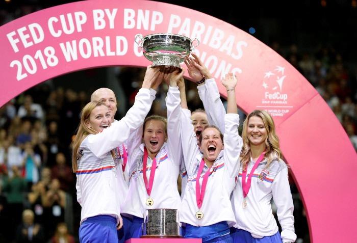 La récap du week-end : la République tchèque remporte la Fed Cup
