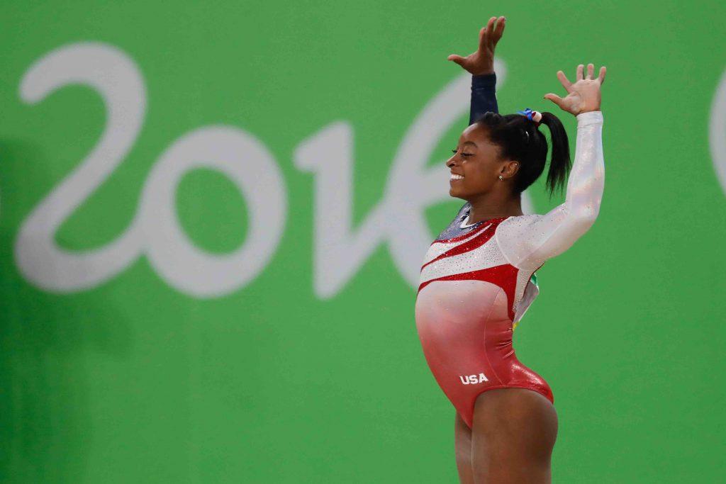 Simone Biles sacrée championne du monde de saut