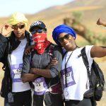 Désertours a inauguré sa première aventure pédestre : le trek ROSE TRIP. Les sportives Émilie Gomis, Emmeline Ndongue et Malia Metella y ont pris part.