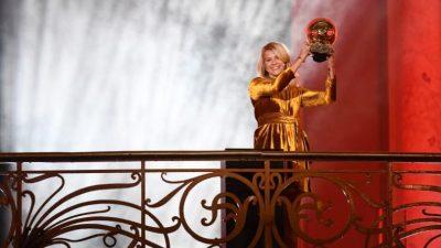 Ada Hegerberg remporte le Ballon d'or féminin