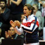 L'ancienne championne de tennis française Amélie Mauresmo a renoncé jeudi au capitanat de l'équipe de France de Coupe Davis pour entraîner Lucas Pouille.