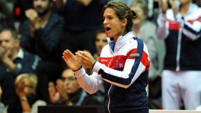 Amélie Mauresmo renonce aux Bleus pour entraîner Lucas Pouille