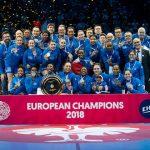 L'Équipe de France a remporté l'EHF Euro 2018 en battant la Russie 24-21 en finale dimanche soir, à l'AccorHotels Arena de Paris-Bercy.