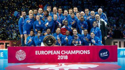 EHF Euro 2018 : les Bleues championnes d'Europe, une première !