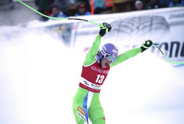 Ilka Stuhec, retour doublement gagnant