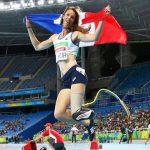 L'athlète handisport Marie-Amélie Le Fur, triple championne paralympique, a été élue vendredi à la présidente du Comité paralympique et sportif français.