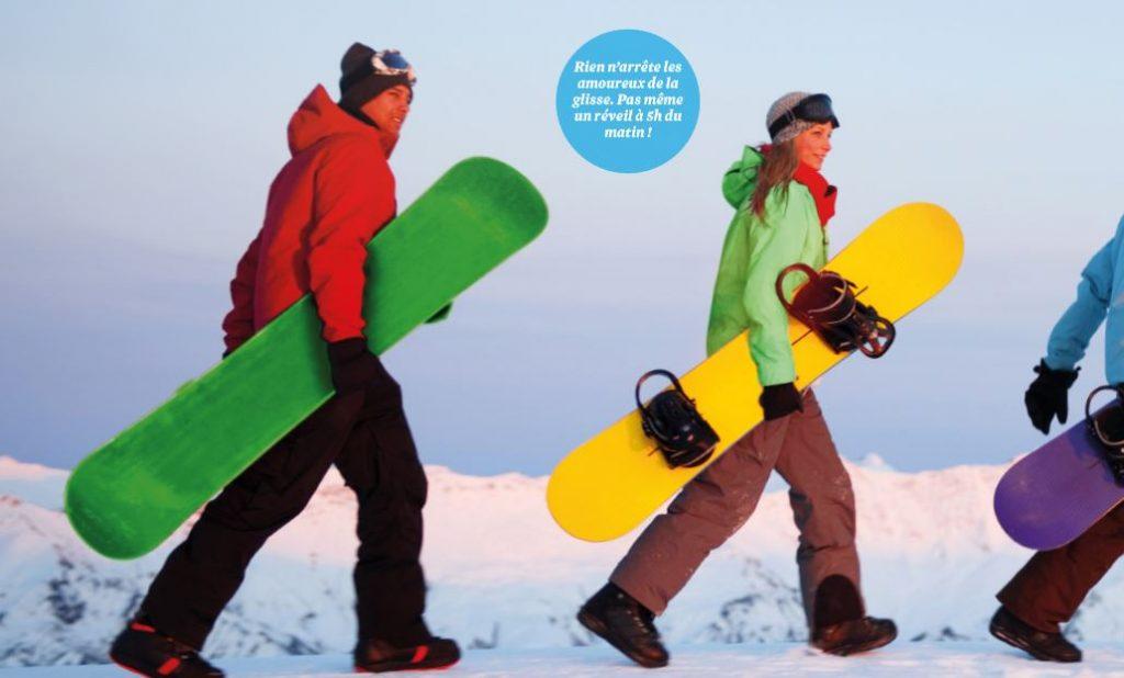 Sport d'hiver : le ski sur la journée, c'est possible !