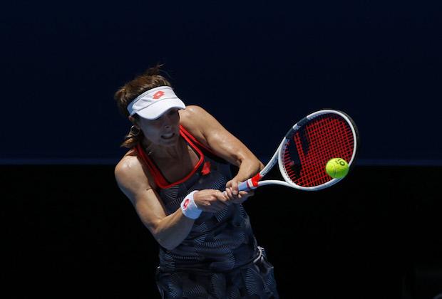 [Open d'Australie] Alizé Cornet stoppée au 2e tour par Venus Williams