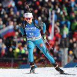 La Française Anaïs Chevalier a pris la 2e place du sprint d'Oberhof comptant pour la Coupe du monde de biathlon jeudi, derrière l'Italienne Lisa Vittozzi.
