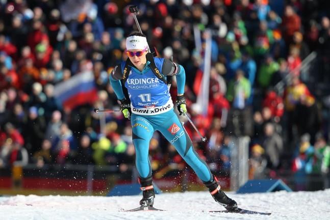 Biathlon : Anaïs Chevalier sur le podium à Oberhof