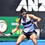 Caroline Garcia s'est qualifiée pour le 3e tour de l'Open d'Australie mercredi matin à Melbourne après sa rapide victoire face à Zoe Hives (6-3, 6-3).