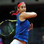 Après deux ans d'absence, Caroline Garcia a été sélectionnée par le capitaine de l'équipe de France de Fed Cup pour affronter la Belgique au premier tour.