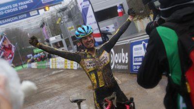Caroline Mani, reine française du cyclo-cross pour la 5e fois