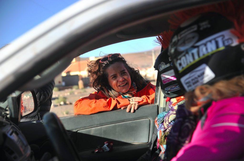 Géraldine Rey, présidente de Désertours, a été récompensée du prix Monte-Carlo Femme de l'Année pour avoir contribué à mener les femmes au sport automobile.
