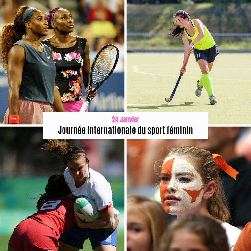 Le 24 janvier, on célèbre la Journée internationale du sport féminin