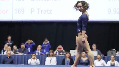 Une gymnaste américaine fait un immense carton sur internet avec sa performance ahurissante !