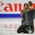 Les Français Vanessa James et Morgan Ciprès ont remporté le premier titre de champions d'Europe de leur carrière en patinage artistique de couple.