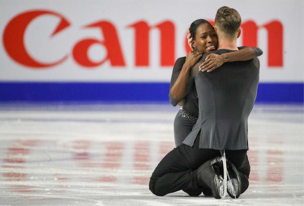 Patinage artistique : James et Ciprès champions d'Europe en couple