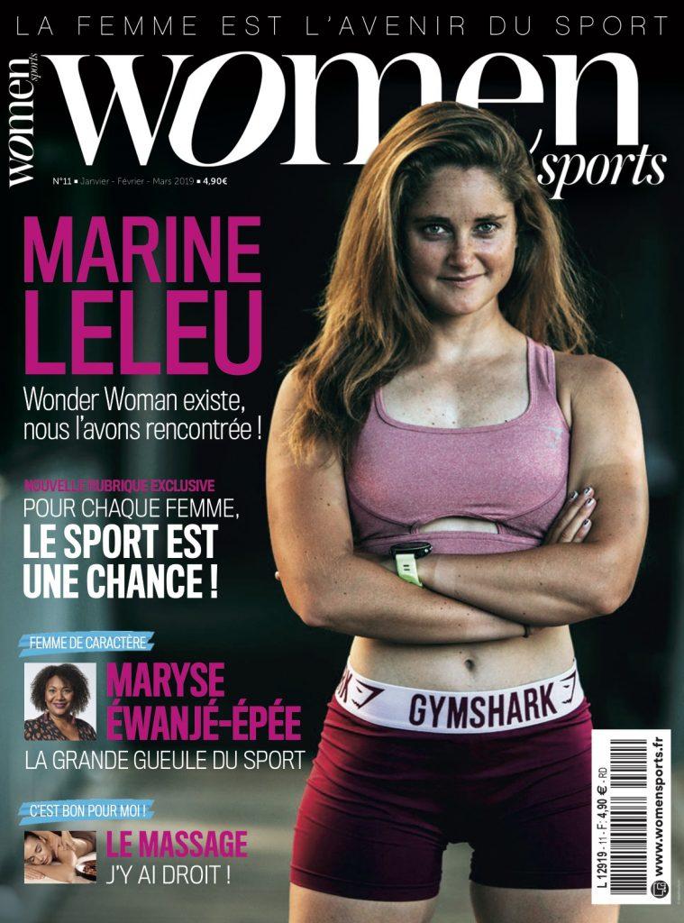 Le petit dernier de la collection des magazines WOMEN SPORTS, le mag WOMEN SPORTS N.11, est disponible en kiosques avec en une la belle Marine Leleu.